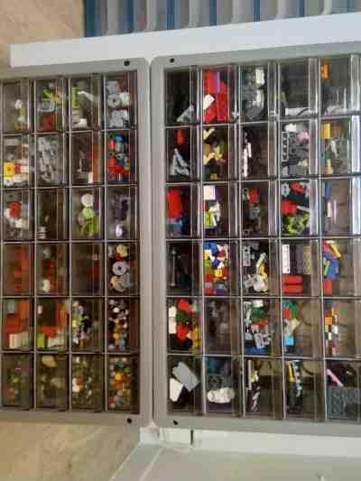 Comment bien ranger des LEGO ?