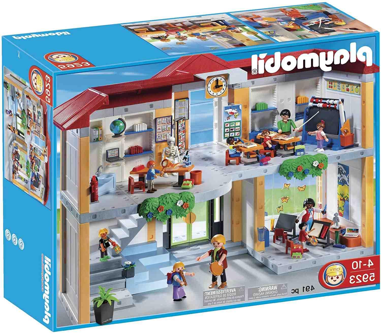 Quel est le prix de l'école Playmobil ?